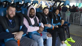 Browns visit Cedar Point