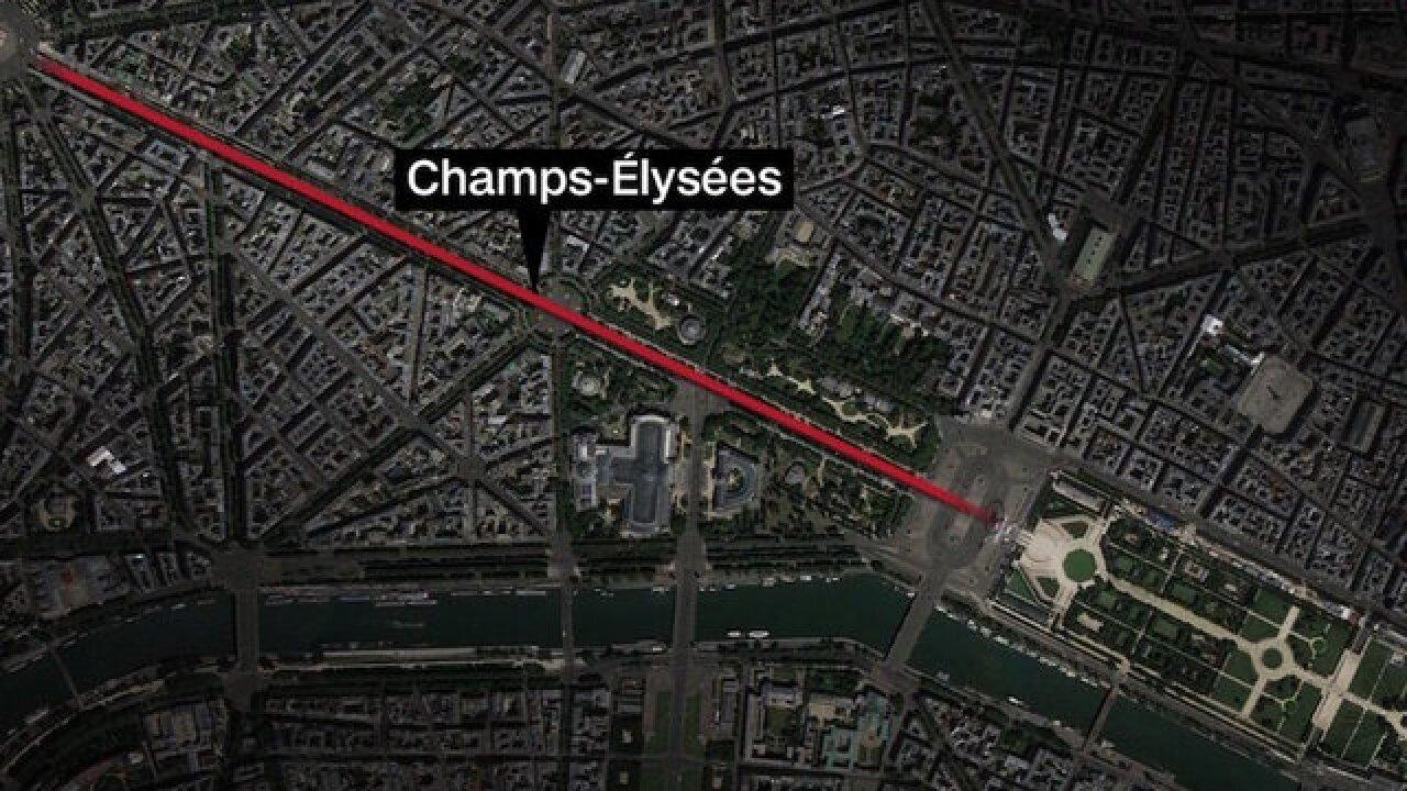 'Sceurity operation' underway in Paris