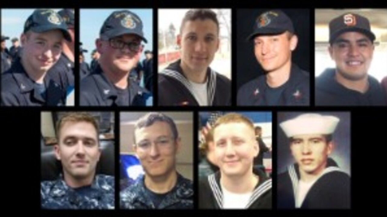 Navy suspends search for missing USS McCain sailors