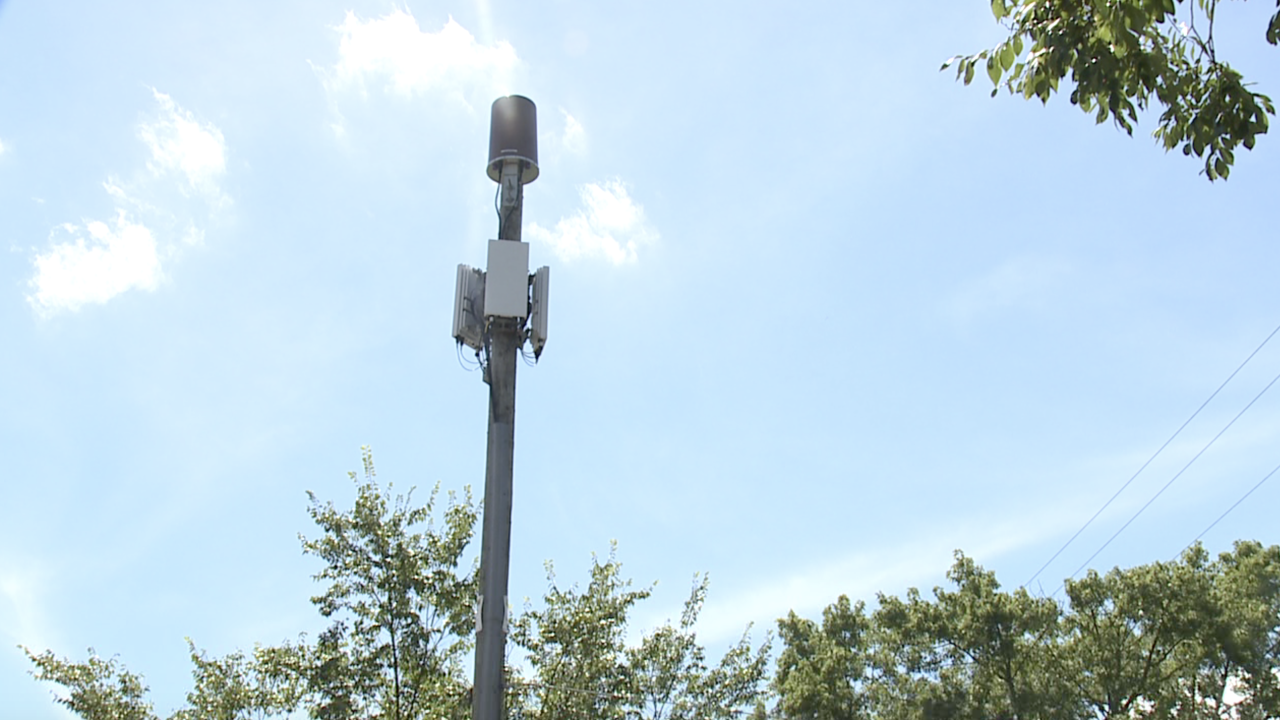 5G tower in east grand rapids