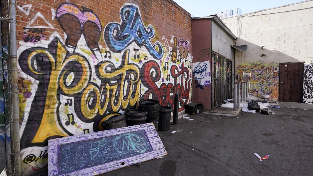 Virus Outbreak California Illegal Nightclub