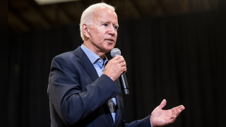 Biden accidentally tells crowd he's a Democratic candidate for US Senate