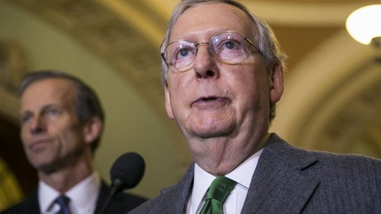 Sen. Mitch McConnell cancels Senate's August recess