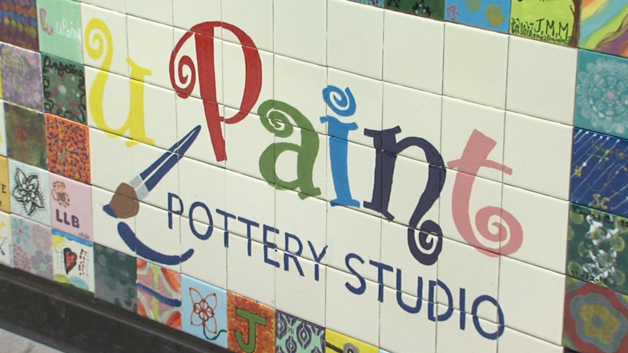 upaint pottery studio