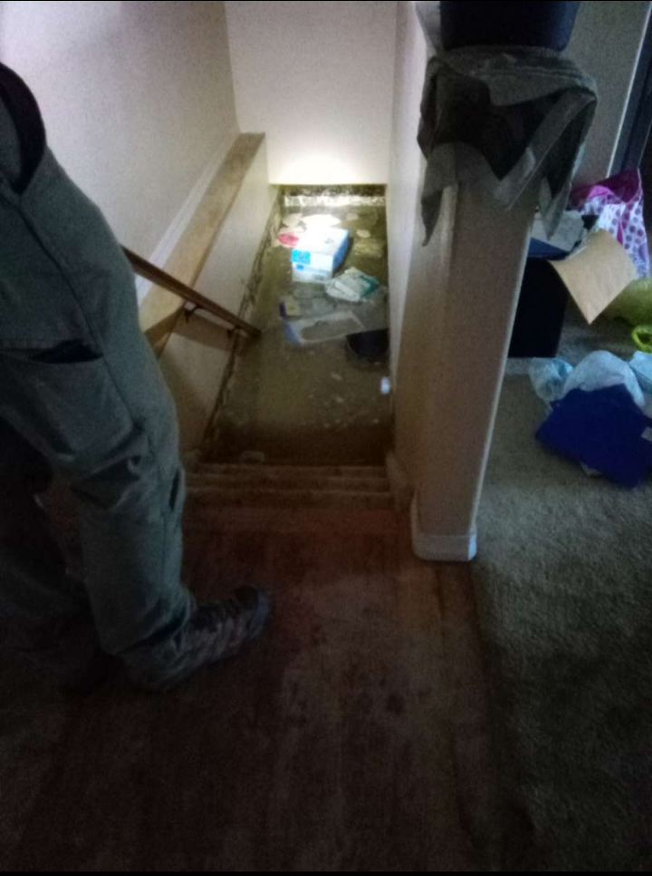 Water in the basement got so high that it almost reached the first floor, which is when one woman says she called 911.