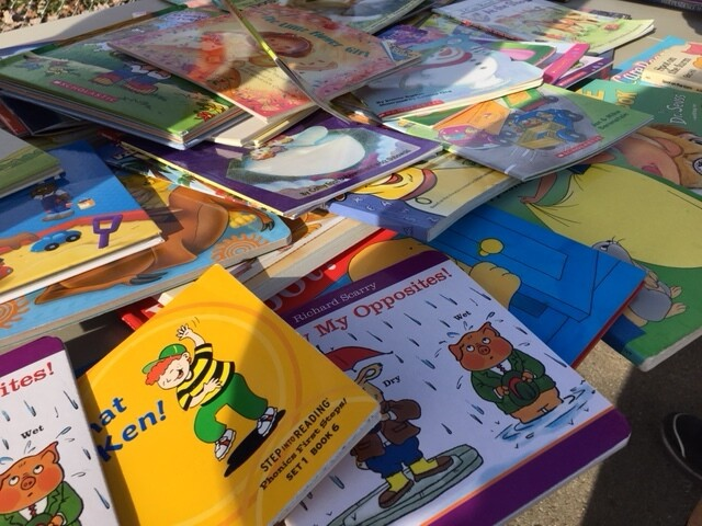 PHOTOS: Nonprofit Delivers Hundreds Of Books By Bicycles