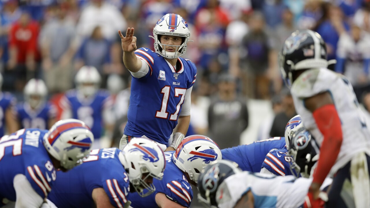 Bills preparing for Titans game until told otherwise