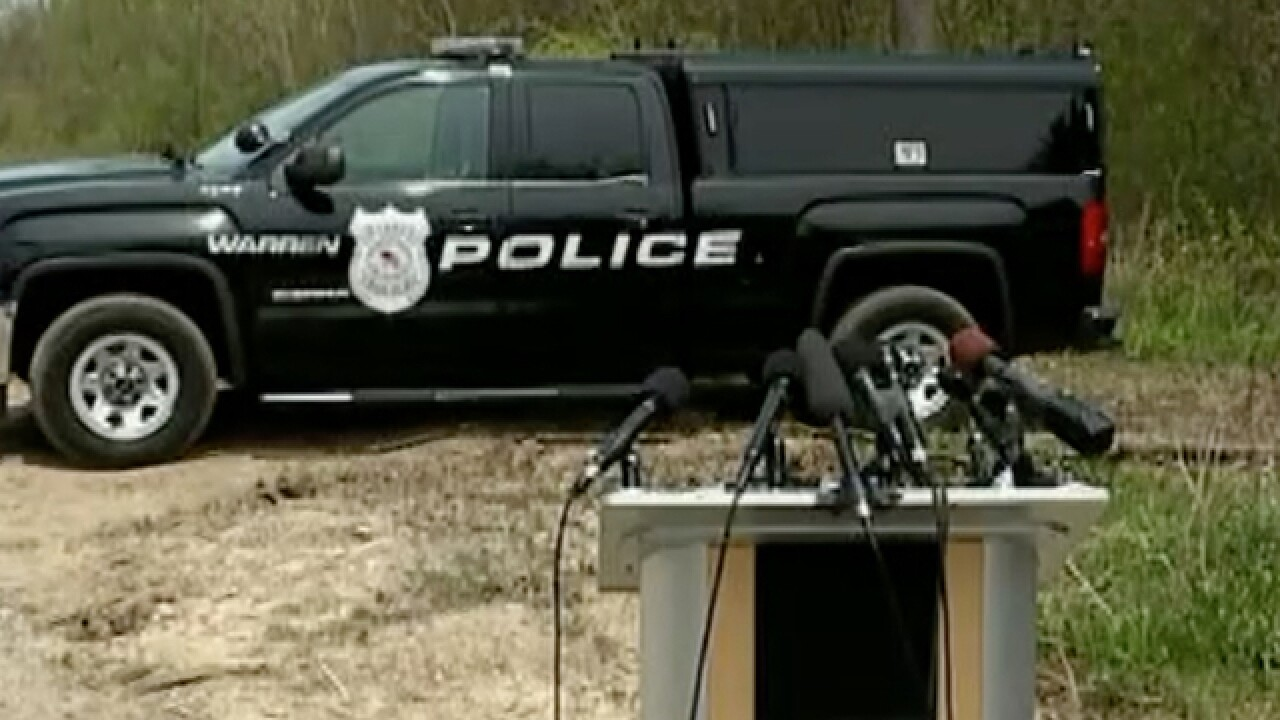 Police search for 4 to 6 bodies at site where Michigan child