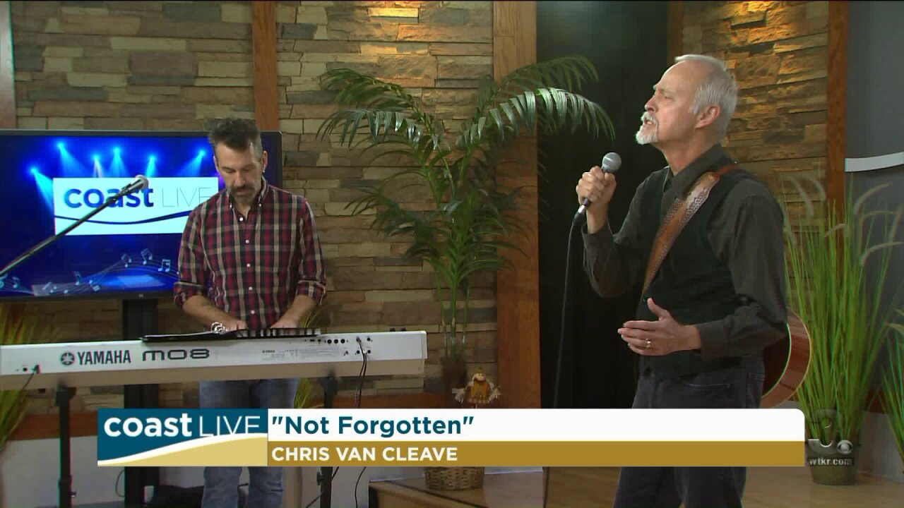 A musical tribute to veterans with Chris Van Cleave on Coast Live