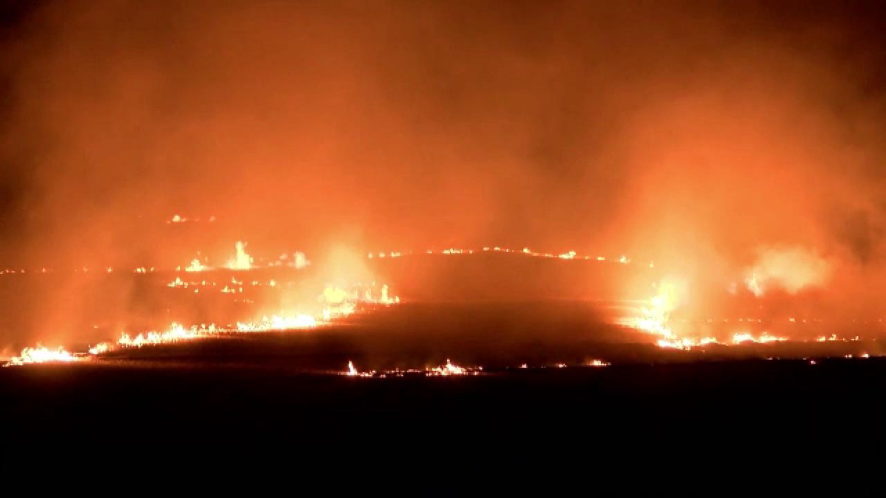 Fire near Sun Prairie