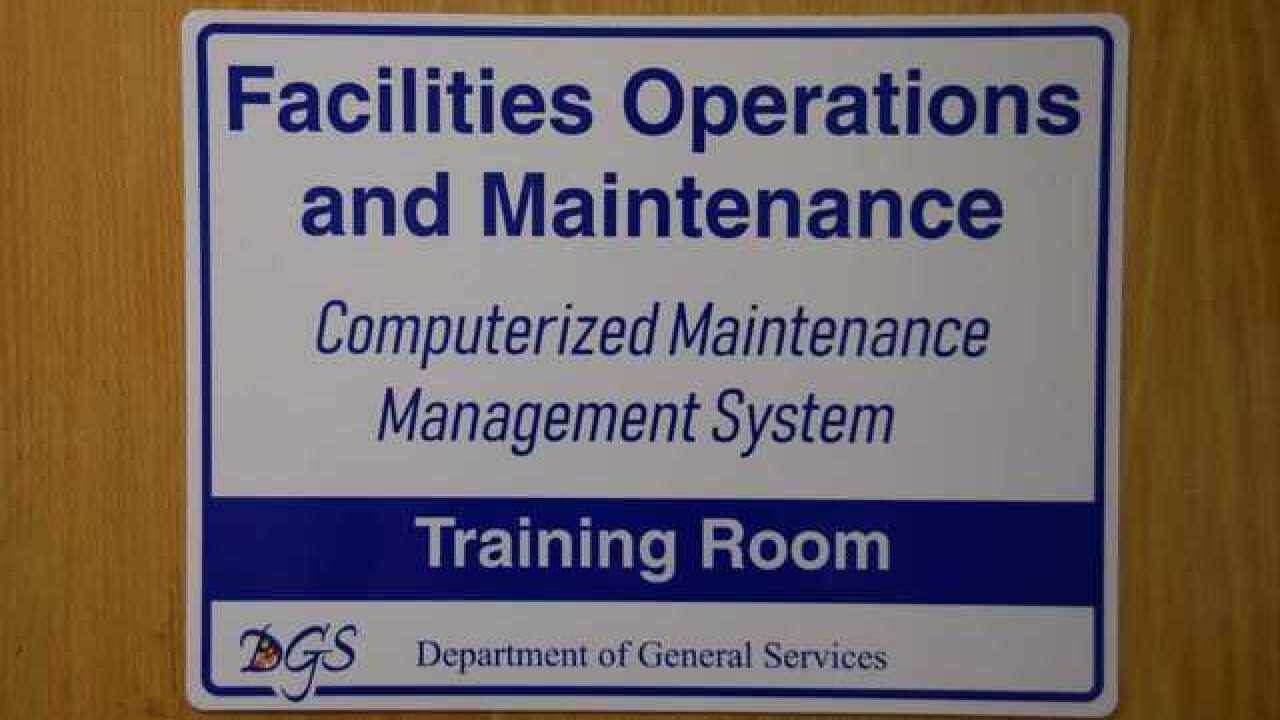 Department of General Services unveils new Computerized Maintenance Management System