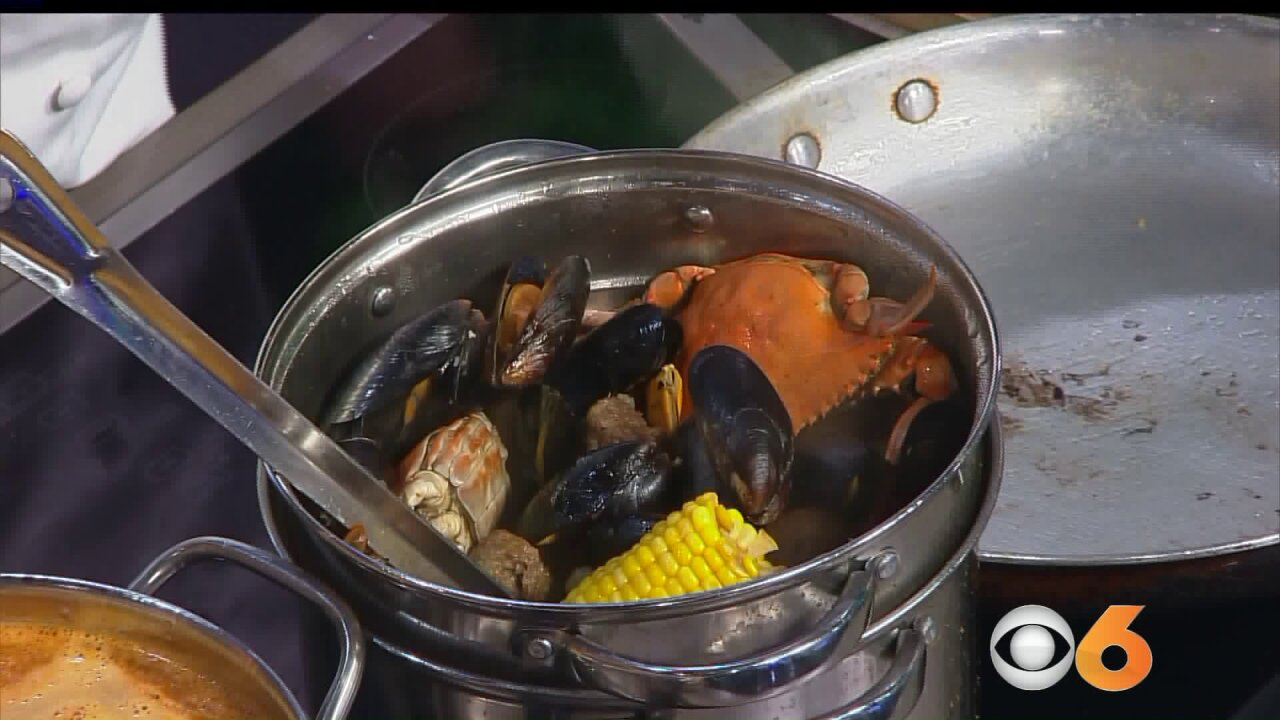 Eastern Shore seafoodboil