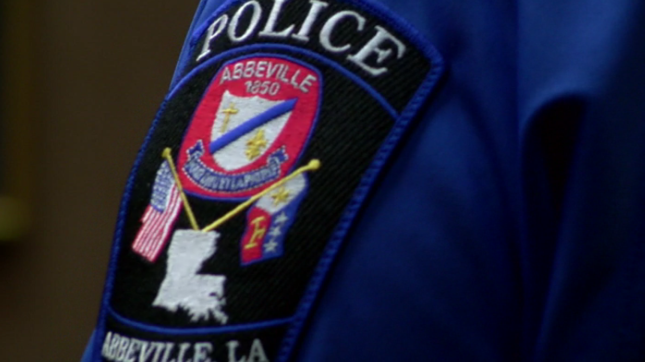 Abbeville Police Dept badge