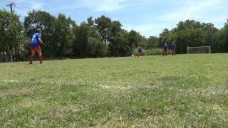 Girls soccer team.JPG