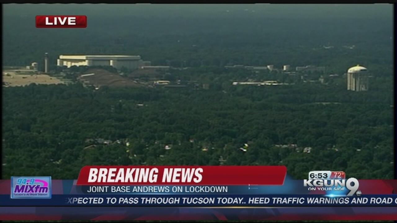 Maryland military facility locks down,...