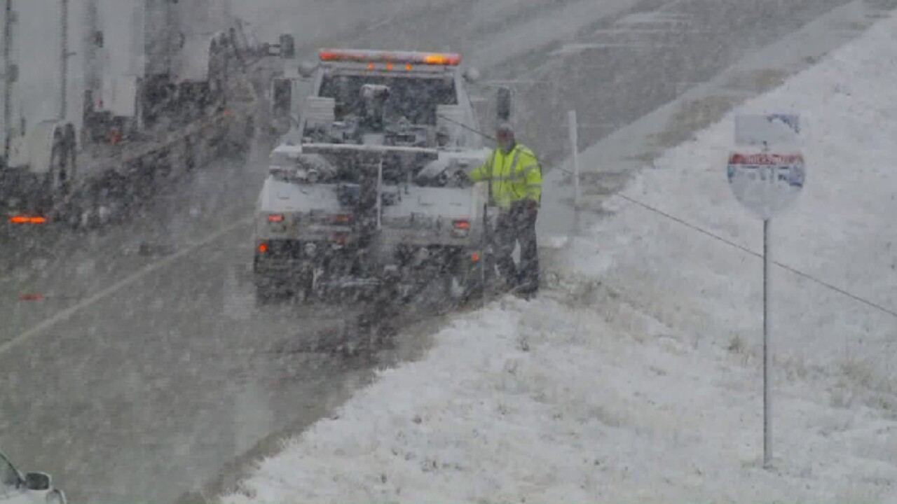 Multiple inches of snow expected to blanket much of Utah Sunday, early Monday