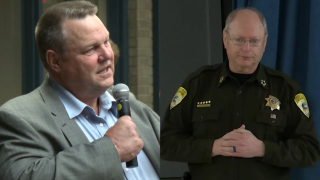 Sen. Tester and Sheriff Dutton talk importance of funding anti-drug policing efforts