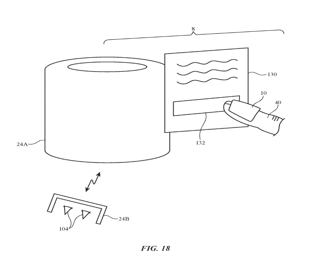 Photos: Apple files patent for AR and VR controlling 'fingerdevices'