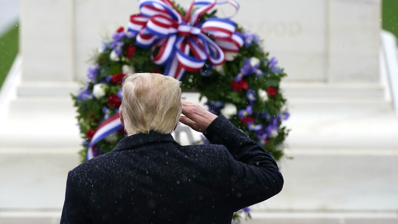 President Trump forces Arlington National Cemetery to host wreath ceremony despite coronavirus concerns