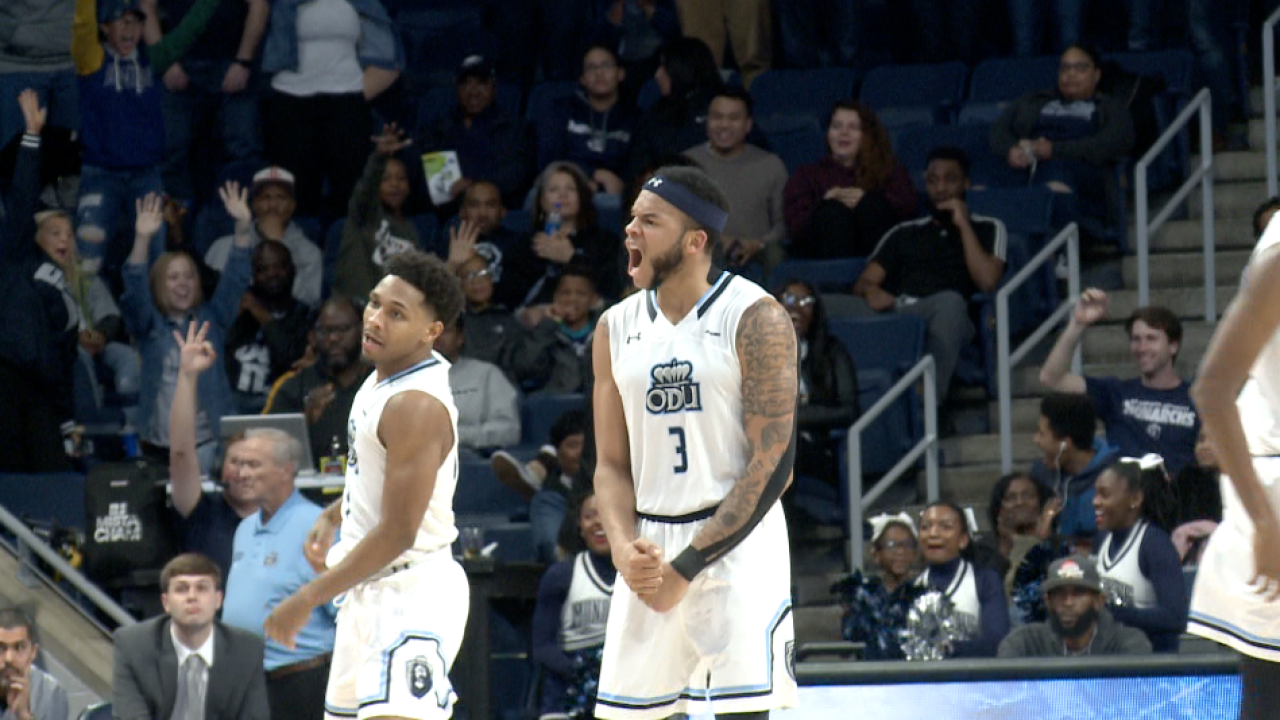 """In the 'white' spot: 1st place ODU men's hoops hosts 2nd place WKU in """"WhiteOut"""""""