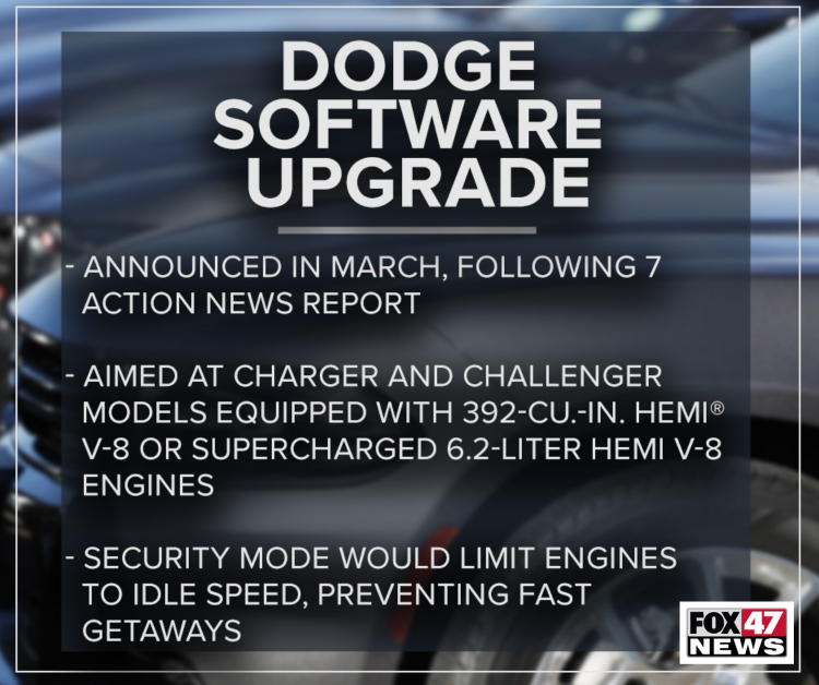 Dodge Software Upgrade: Things to know