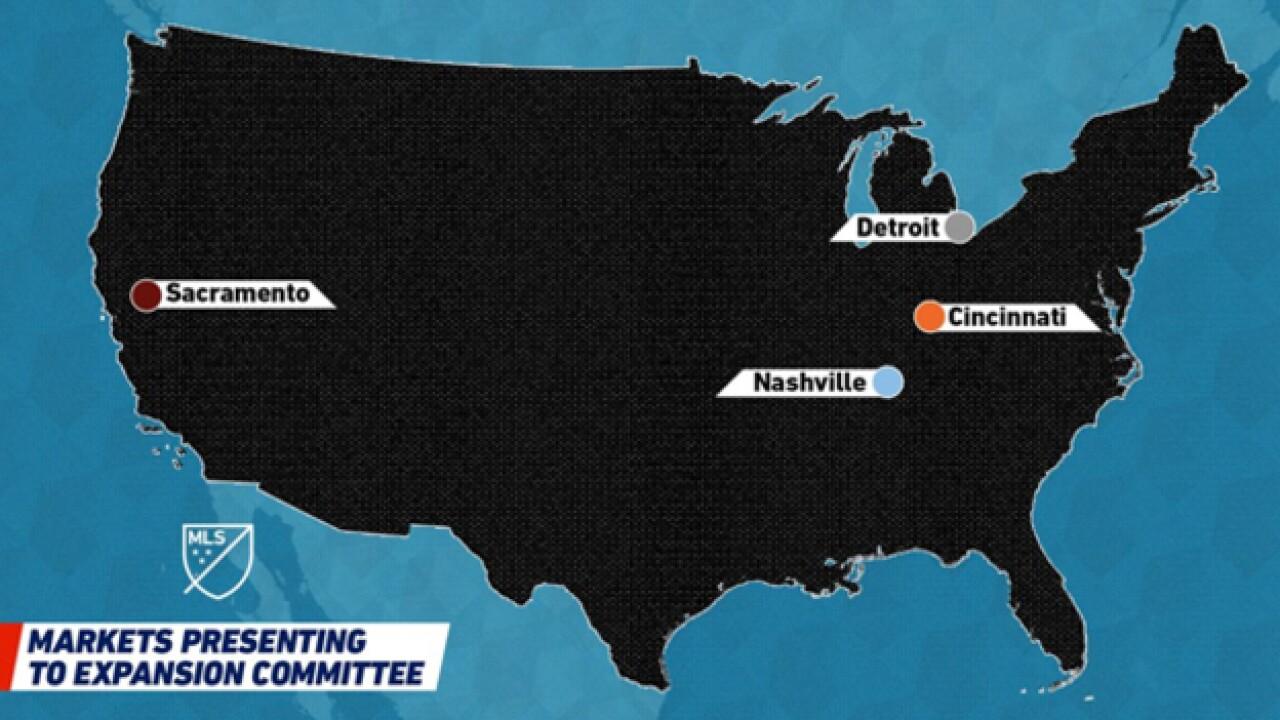 Nashville 1 Of 4 Finalists For MLS Expansion Teams