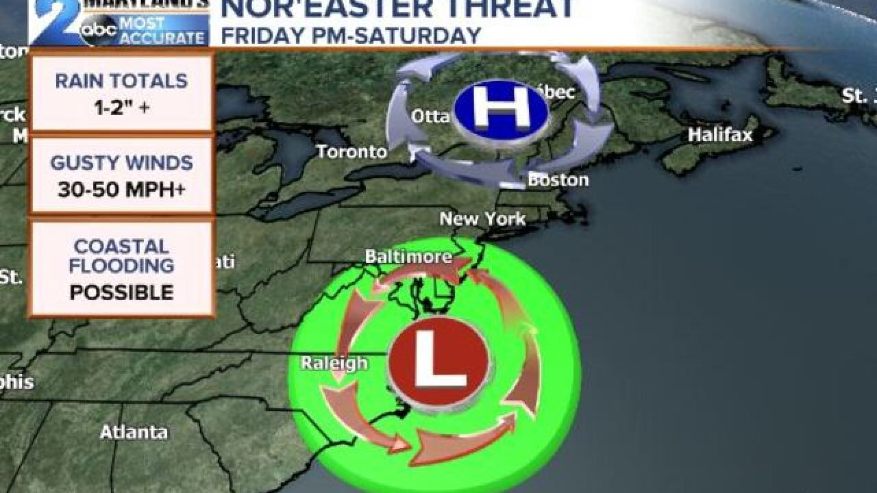 NOR'EASTER THREAT: Active End To October