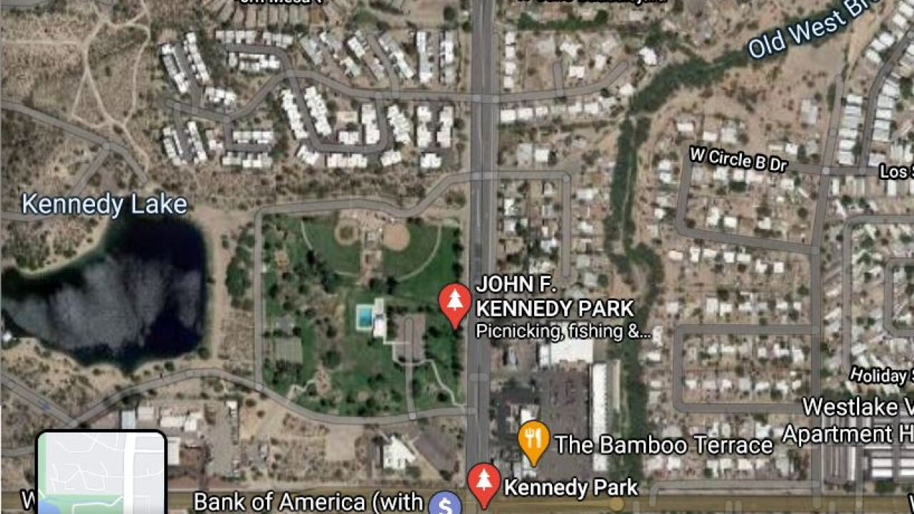 A man was killed at Kenney Park around 9:30 p.m. Tuesday.