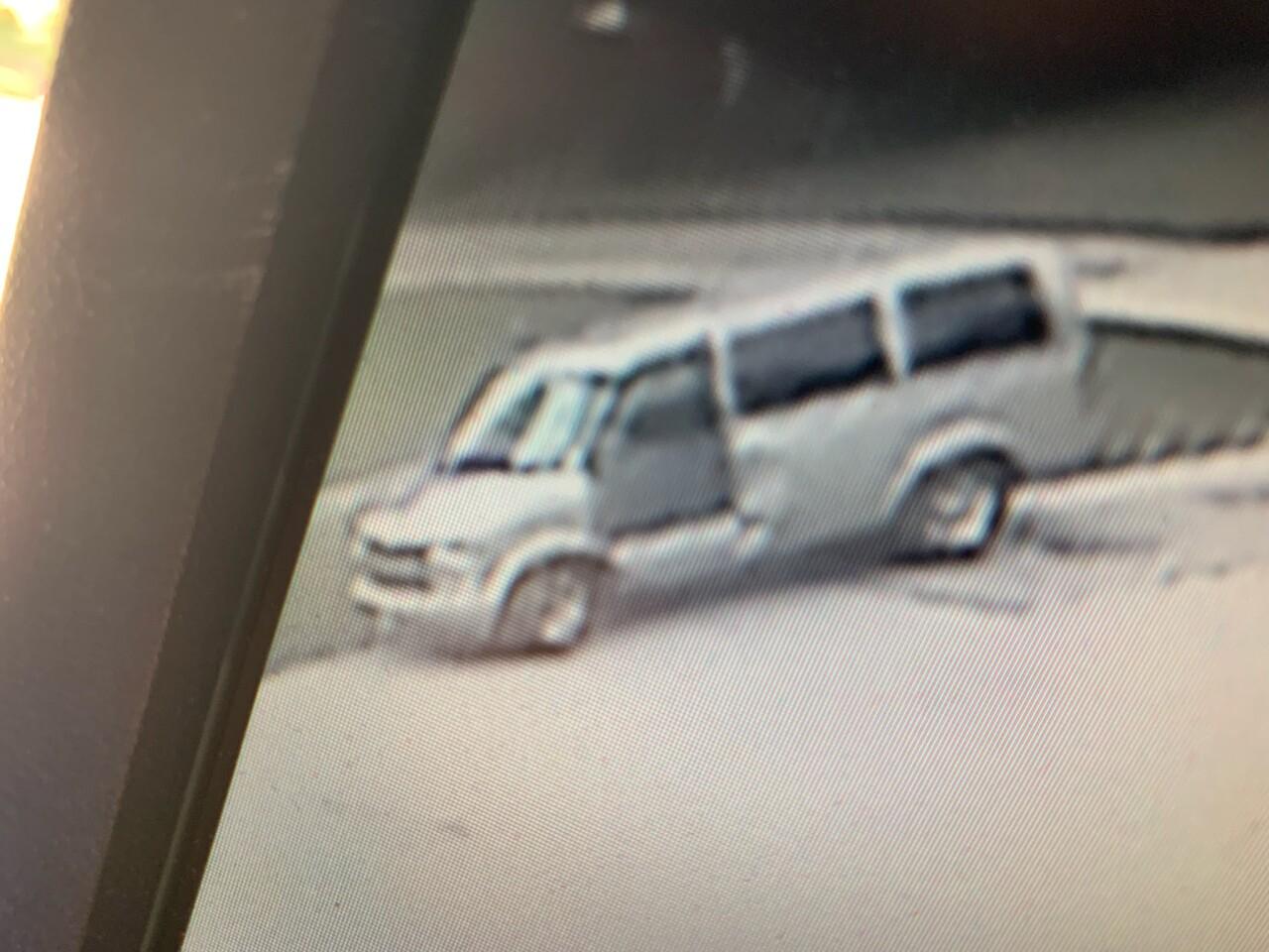 Bank robber's van