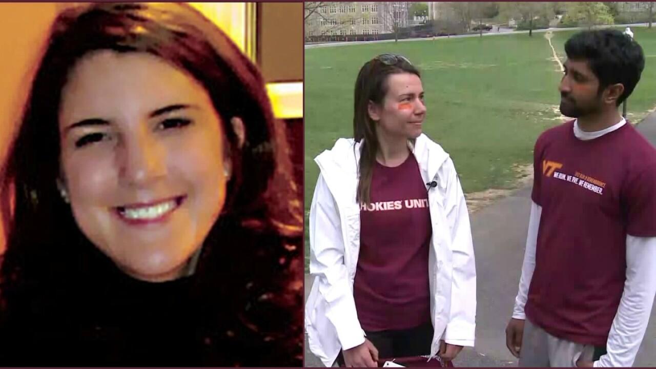 Alumni return to Virginia Tech: 'I just want everyone toremember'