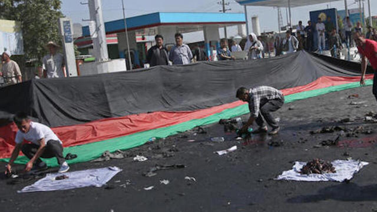 Dozens killed in Kabul bombing