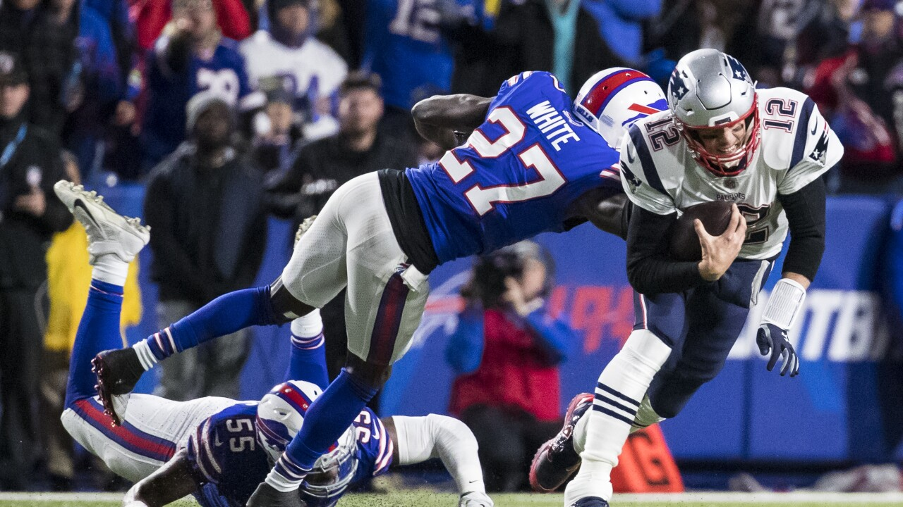 Tre'Davious White Bills Patriots 2018