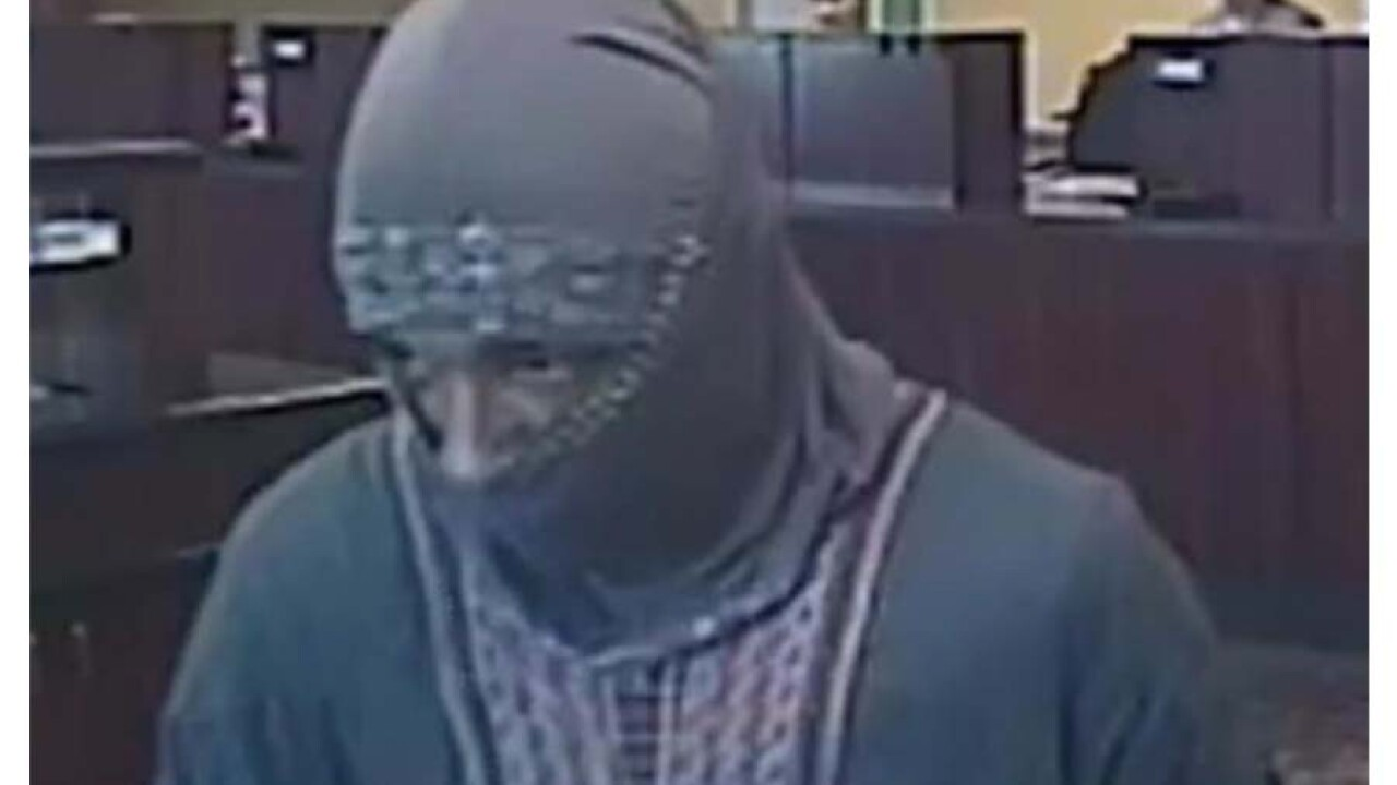 Chesterfield police looking for suspect who robbed TCF Bank