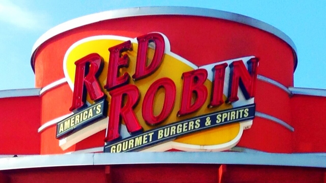 Red Robin offering a free meal for teachers