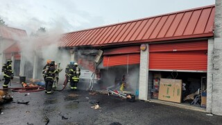 Man in critical but stable condition after crashing into the Stack & Store in Aberdeen