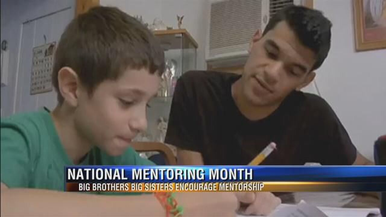Local Big Brothers Big Sisters Encouraging Community to Volunteer