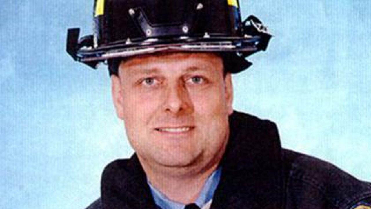The remains of New York firefighter Michael Haub, a 13-year veteran of Ladder Company 4, were identified 18 years after he died on 9/11. (Source: CNN)