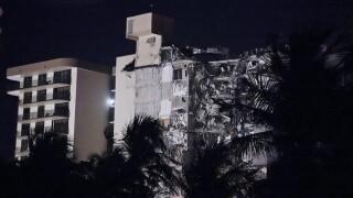 Building Collapse Miami photo