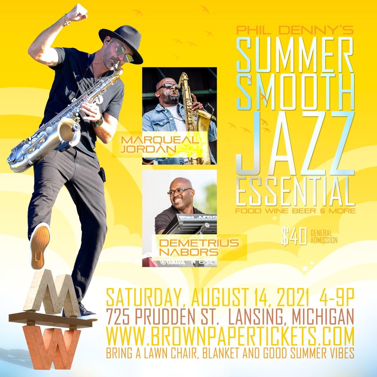 Summer Smoother Jazz Essential flyer