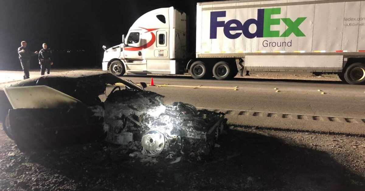 FedEx driver killed trying to help another driver