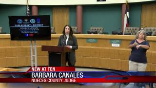 Nueces County drops from highest to lowest COVID rate in state.