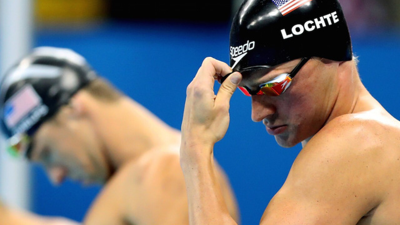 Announcer mistakes Phelps for Lochte during Olympic swimming event