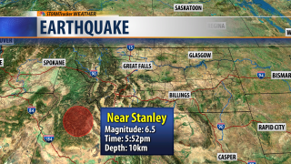 6.5 Earthquake in Idaho felt in Montana