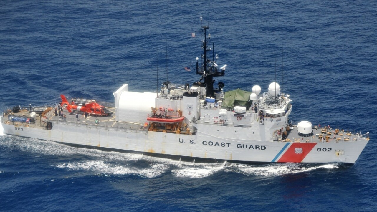 Local Coast Guard cutters offload 27,000 pounds of cocaine in Florida