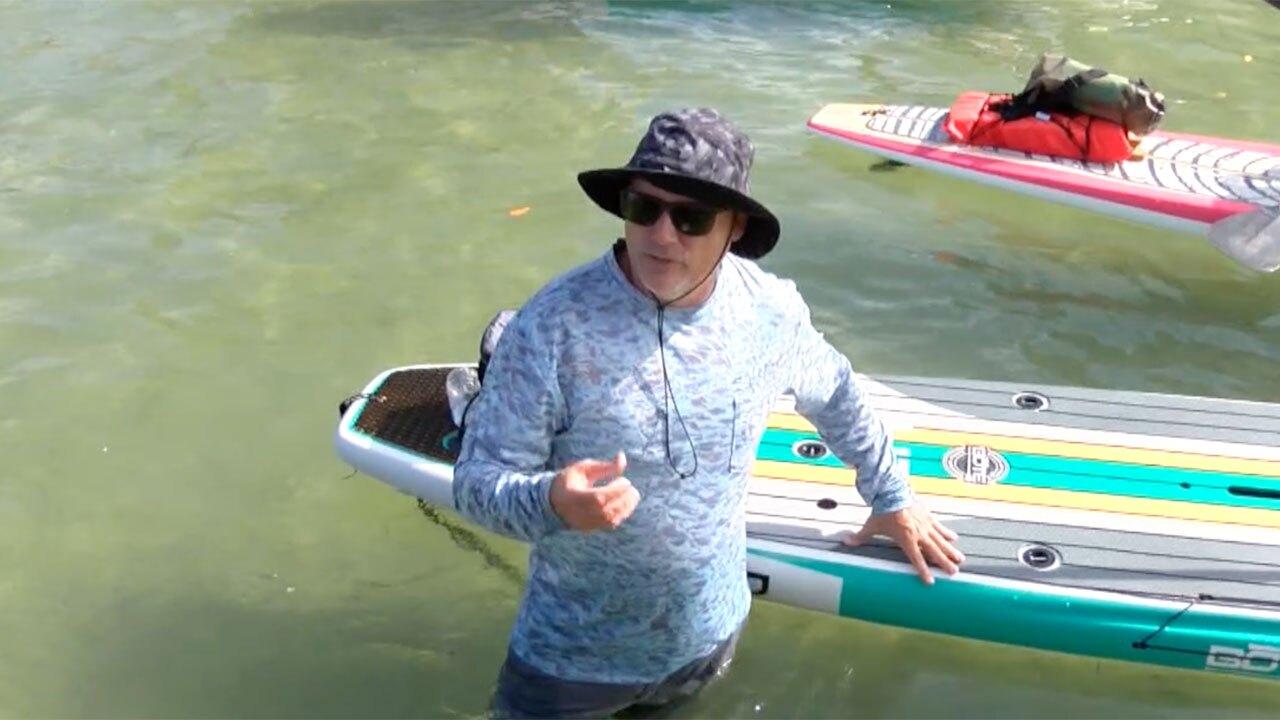 Robert Kerns, paddleboarder