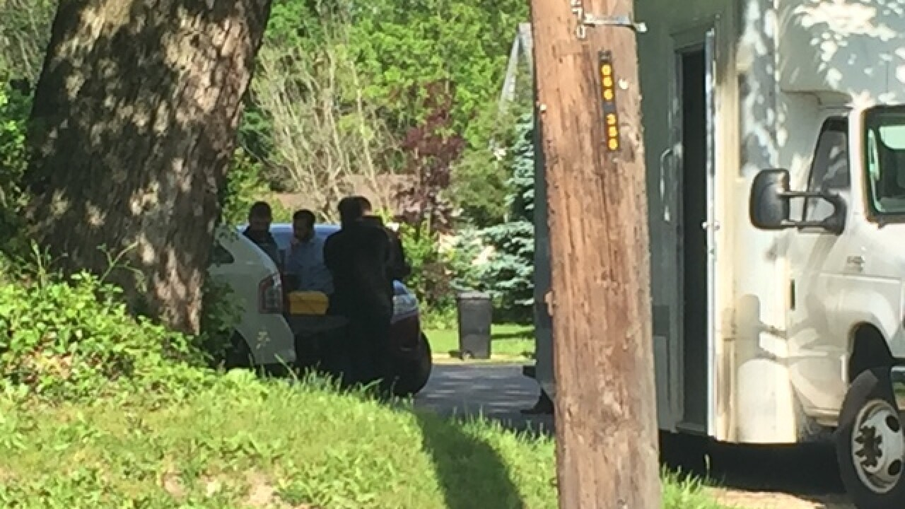 PICS: FBI in raid related to Plainfield threats