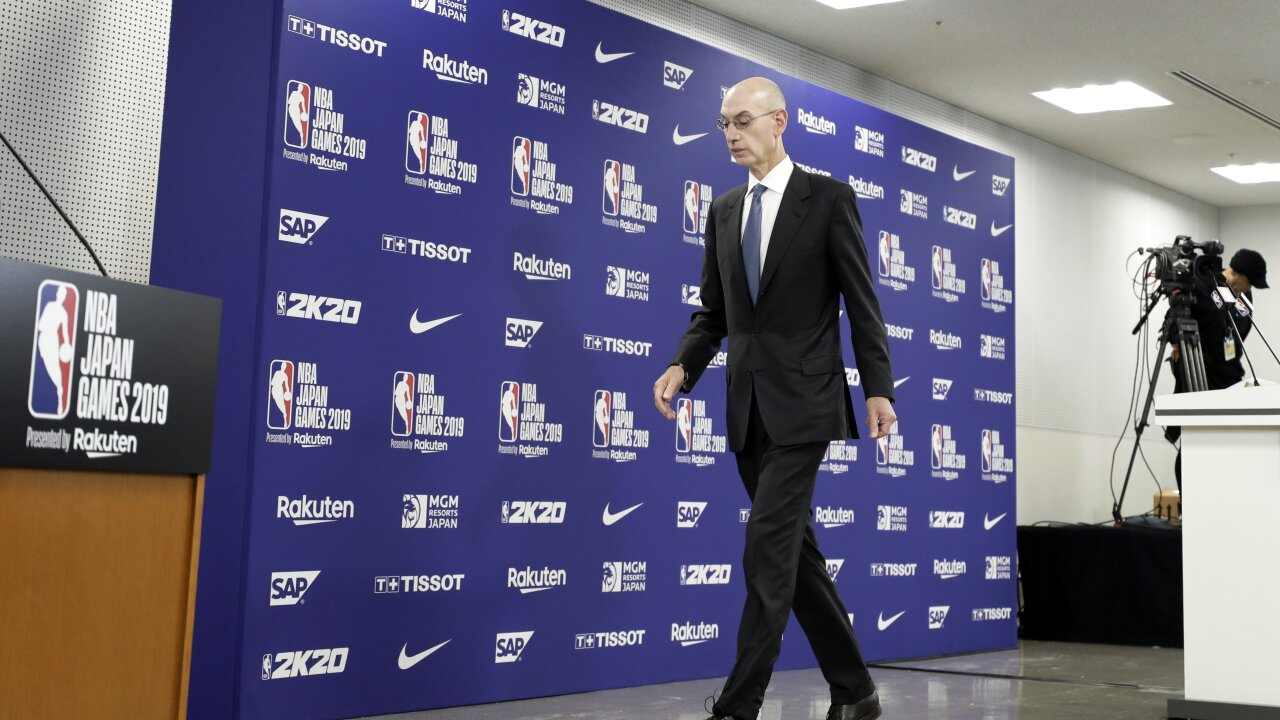 No-win situation in China: Here's what the NBA stands to lose after Houston GM's Hong Kong tweet