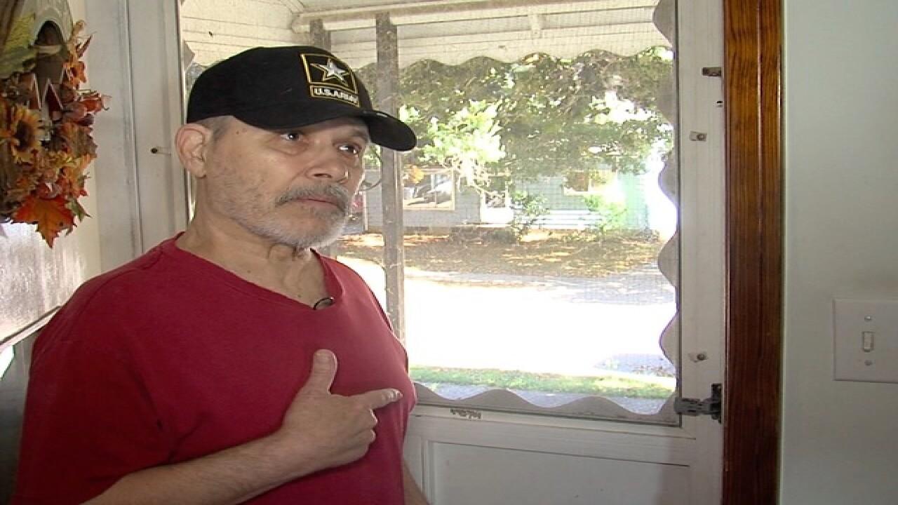 Akron veteran shoots burglar who broke into home