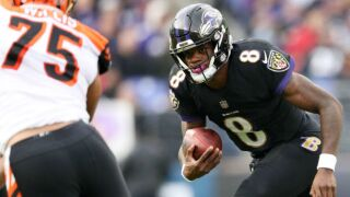 Bengals can't stop 100-yard rookie rushers Lamar Jackson, Gus Edwards in 24-21 loss to Ravens