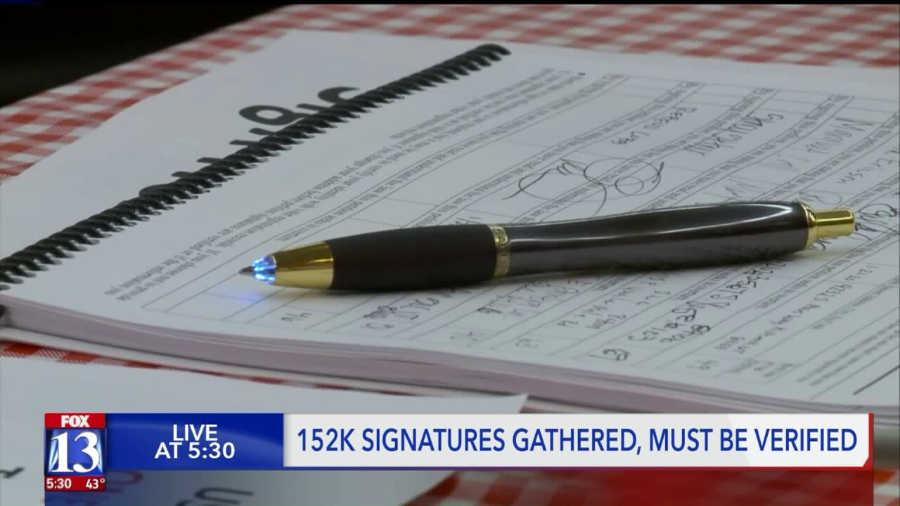 'This will be on the ballot': Tax referendum supporters get 152,000 signatures, pendingverification